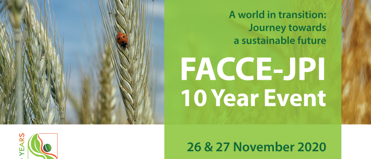 Missed the FACCE-JPI 10 Year Event? Watch the recordings!
